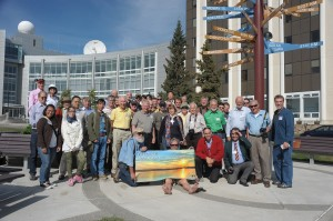 Group picture from 2013 light & color meeting - Fairbanks, AK (Joseph A Shaw)